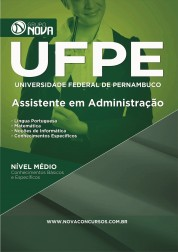 Download Apostila UFPE - Assistente em Administração