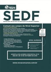 Apostila SEDF – Comum aos cargos de Nível Superior