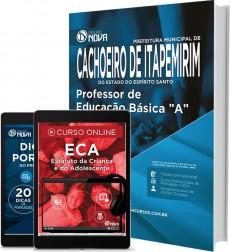 """Apostila Cachoeiro de Itapemirim – Professor de Educação Básica """"A"""""""