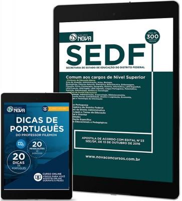 Download Apostila SEDF Pdf – Comum aos cargos de Nível Superior
