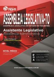 Apostila Assembleia Legislativa TO - Assistente Legislativo  Assistência Administrativa