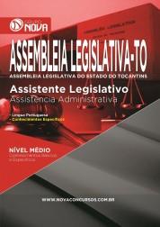 Download Apostila Assembleia Legislativa TO - Assistente Legislativo  Assistência Administrativa