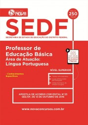 Apostila SEDF – Professor de Língua Portuguesa