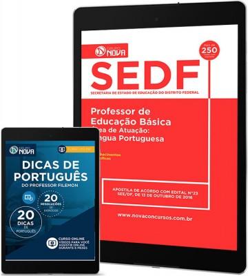 Download Apostila SEDF Pdf – Professor de Língua Portuguesa
