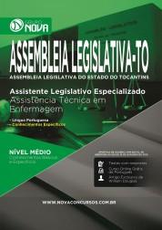 Apostila Assembleia Legislativa TO - Especializado:  Assistência Técnica em Enfermagem