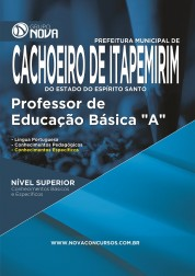 """Download Apostila Cachoeiro de Itapemirim Pdf – Professor de Educação Básica """"A"""""""