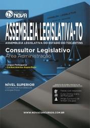 Apostila Assembleia Legislativa TO - Consultor Legislativo - Área Administração