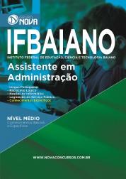 Download Apostila IFBAIANO Pdf - Assistente em Administração