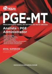 Download Apostila PGE MT - Analista PGE - Administrador