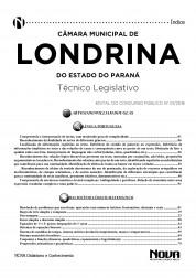 Apostila Londrina – Técnico Legislativo