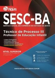 Apostila SESC - Técnico de Processo III - Professor de Educação Infantil