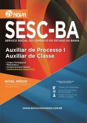 Apostila SESC - Auxiliar de Processo III – Auxiliar de Classe