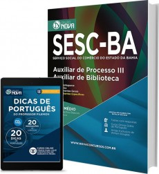 Apostila SESC - Auxiliar de Processo III – Auxiliar de Biblioteca