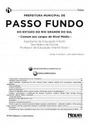 Download Apostila Prefeitura de Passo Fundo Pdf - Cargos de Nível Médio