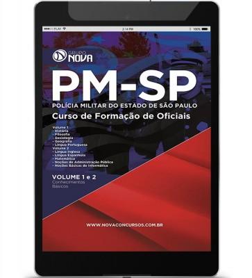 Download Apostila PM SP - Curso Formação de Oficiais