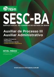 Download Apostila SESC Pdf - Auxiliar de Processo III – Auxiliar Administrativo