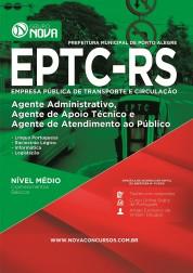 Apostila EPTC - RS – Agente Administrativo, Agente de Apoio Técnico e Agente de Atendimento ao Público
