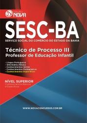 Download Apostila SESC Pdf - Técnico de Processo III - Professor de Educação Infantil