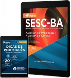 Download Apostila SESC Pdf - Auxiliar de Processo III – Auxiliar de Classe