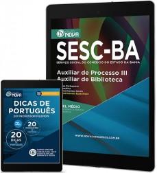 Download Apostila SESC Pdf - Auxiliar de Processo III – Auxiliar de Biblioteca