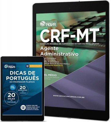 Download Apostila CRF MT Pdf - Agente Administrativo