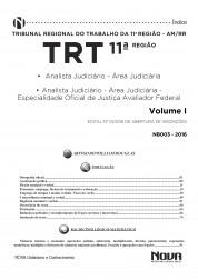 Apostila TRT 11ª Região – Analista Judiciário - Especialidade Oficial de Justiça Avaliador Federal
