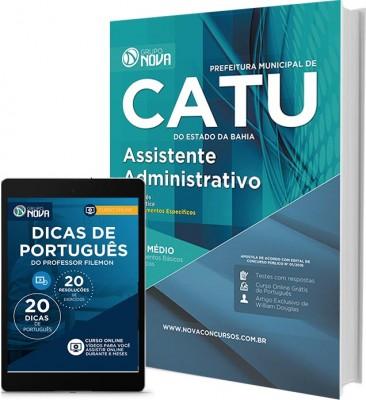 Apostila Catu - Assistente Administrativo