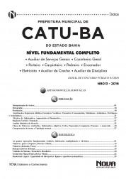Apostila Catu - Comum aos cargos de Nível Fundamental