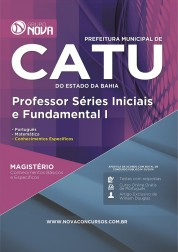 Apostila Catu - Professor Séries Iniciais e Fundamental I