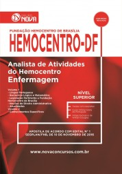 Download Apostila HEMOCENTRO Pdf – Analista de Atividades do Hemocentro - Enfermagem
