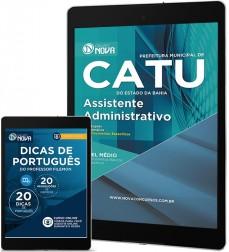 Download Apostila Catu Pdf - Assistente Administrativo