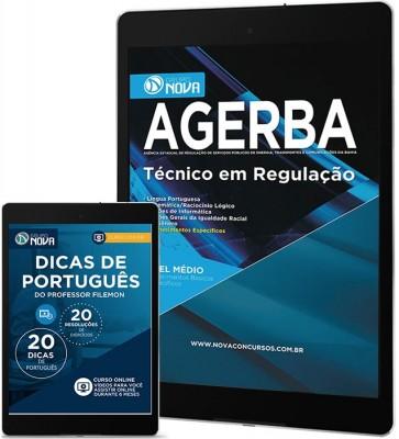 Download Apostila AGERBA Pdf – Técnico em Regulação