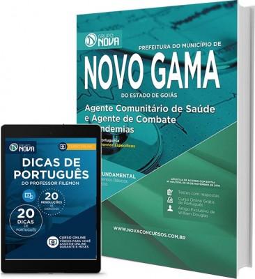 Apostila Novo Gama – Agente Comunitário de Saúde e Agente de Combate às Endemias