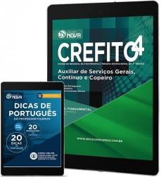 Download Apostila CREFITO 4ª Região Pdf – Auxiliar de Serviços Gerais, Continuo e Copeiro