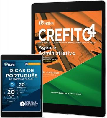 Download Apostila CREFITO 4ª Região Pdf – Agente Administrativo