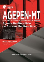 Download Apostila AGEPEN - MT Pdf – Agente Penitenciário do Sistema Penitenciário