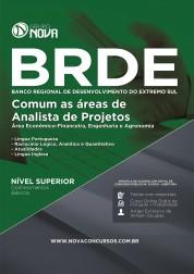 Apostila BRDE – Comum as áreas de Analista de Projetos