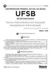 Download Apostila UFSB Pdf – Assistente em Administração