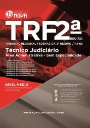 Combo TRF 2º Região – Apostila Técnico Judiciário - Área Administrativa + Curso Online