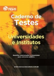 Caderno de Testes - Universidades e Institutos
