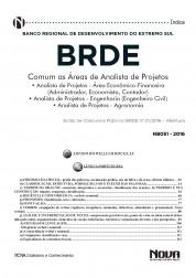 Download Apostila BRDE Pdf – Comum as áreas de Analista de Projetos