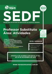 Apostila SEDF – Professor Substituto - Área: Atividades