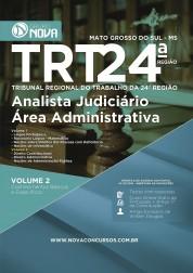 Apostila TRT 24º Região - Analista Judiciário - Área Administrativa