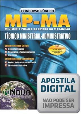 Técnico Ministerial - Administrativo