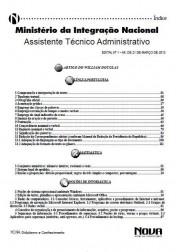 Assistente Técnico Administrativo