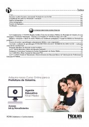 Download Apostila Goianira Pdf 2016 – Agente Educativo