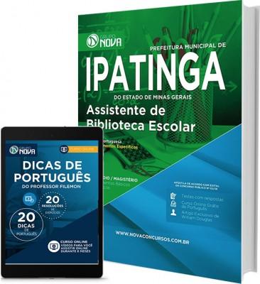 Apostila Ipatinga – Assistente de Biblioteca Escolar