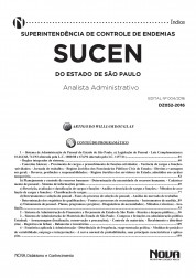 Apostila SUCEN - Analista Administrativo