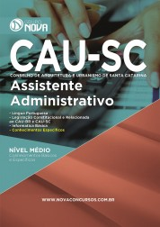 Download Apostila CAU Pdf  - Assistente Administrativo