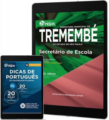 Download Apostila Tremembé Pdf – Secretário de Escola